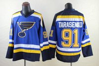 jacket team - Blues Vladimir Tarasenko Jerseys Blue Hocley Jerseys New Season Sports Jerseys for Men Ice Winter Jackets All Team Uniforms Mix Order