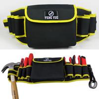 belt repair - Man Bag Oxford Multifunctional Belt Mini Bag Fashionable Men s Portable Electrical Repair Tool Waist Bags Pack Bolsa ZA0115 salebags