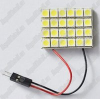 Wholesale 24 SMD package mail strips of LED auto lamp plate reading lamp car lamp