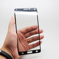 Wholesale For SAMSUNG GALAXY NOTE Full Screen Explosion Proof Temered Glass Protector Dual Electroplate mm D Note4 Film