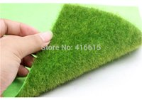 artificial grass mat - Realistic Simulation Lawn Green Artificial Grass Mat Boxwood Mat Simulation Moss For Home Wedding Decoration Garden DIY CM