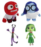 anger free - Hot Sale set cm Inside Out Plush Toy Sadness anger disgust rare Stuffed Dolls Soft Toy For Children