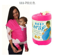 Wholesale 10 Colors Kid Wrap Kid s Slings Baby Carrier Gears Strollers Gallus Baby Carrier Towels wrap wraps coulorful Easy