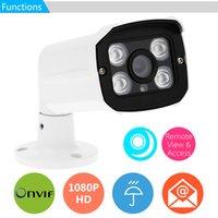 array cameras - 4 Array LED HD P Waterproof IP Webcam MP IP Cloud CCTV Security Camera Surveillance IR CUT Outdoor Support Phone Control DHL S396
