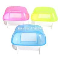 Wholesale 2015 New Multicolor Hamster Bathroom plastic bathtub container