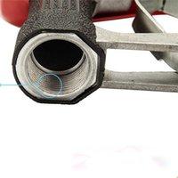 Wholesale G1 quot Fuel Gasoline Diesel Petrol Oil Delivery Gun Nozzle Dispenser With Flow Meter