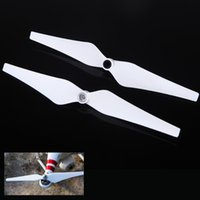auto propeller - 1 Pair quot CW CCW RC Helicopter Self Tighten Blades Auto Lock Propellers for DJI Phantom Vision Quadcopter