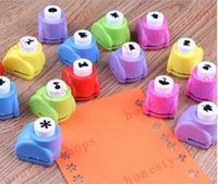 Wholesale Kid Child Mini Printing Paper Hand Shaper Scrapbook Tags Cards Craft DIY Punch Cutter Tool
