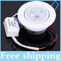 Wholesale Warranty Years CREE W X3W Dimmable Led Recessed Downlights CRI gt Warm Natrual Cool White Led Down Light AC V CE UL CSA SAA