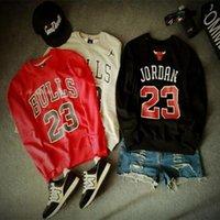 Wholesale Jordan bulls mens hoodies and sweatshirts chandal sudaderas hombre sweatshirt men tracksuits hoodie hip hop