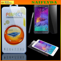 Wholesale For Galaxy S6 Clear Tempered Glass Screen Protector Film for Samsung S6 edge screen protector with Retail box