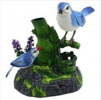 Wholesale Creative Electrical Simulation Bird Voice Control Birds For Children s Toys Gift Table Decoration