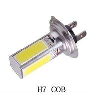 Wholesale High Power W H7 COB LED Lighting Light Car Daytime Running Light DRL Car Driving Light Bulb V Parking Fog Lamp
