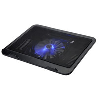 Wholesale Hot Sales laptop Cooling Pads one cm big LED light fan For Computer Accessories VAZION N19