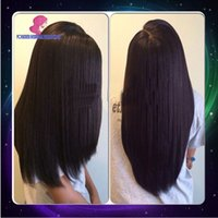 Wholesale Italian Yaki Full Lace Wig Virgin Brazilian Human Hair Yaki Straight Lace Front Wig Glueless Full Lace Wig For Black Women