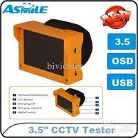 Al por mayor-al por mayor - CCTV Prueba de la cámara del monitor portátil de 3.5