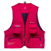 big l shot - New Man sport dress outdoor vest shooting coat casual many pocket Male waistcoat Plus Big Size Canvas Jacket