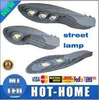 Wholesale X1PCS fast ship street lights W W W AC V IP65 led streetlight LED Road Lamp Waterproof CREE LED Chip