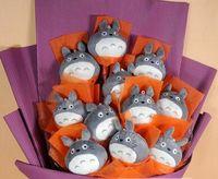 wedding stuff - 2015 New Min order is mix order Totoro stuffed animal toy small pendant cartoon dolls wedding small gifts