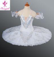 adult snow white tutu - Classical Ballet Tutu White Nutcracker Adult Women Kids Girls Size Ballet Costume For Sale Snow Queen AT1046D