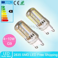 Wholesale new g9 led W W W W AC220V V G9 led lamp Led bulb SMD LED G9 light Replace W halogen lamp light