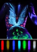 Wholesale nightclub dedicated luminous color pigments Series Body painting body painting pen Face Color Stick