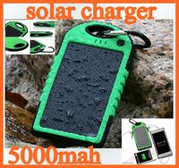 banks power pda - 20pcs mAh Dual USB Port Solar Charger portable energy bank mobile power for cellphone PDA tablet PC iphone ipad samsung colorful