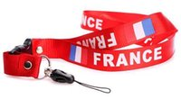 Wholesale Football lanyards Basketball the long keychain lanyards that go over neck Baseball Phone Chain