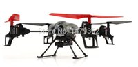 Wholesale Channels WLtoys V959 G Axis Remote Control RTF Quadrotor UAV Helicopter Drone With Camera Hover Camera Roll