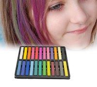 Wholesale 1 Box Hair Color Chalk Temporary Dye Kit x8x8mm