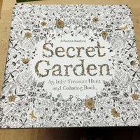 Wholesale Decompression Artifact Secret Garden An Inky Treasure Hunt and Coloring Book Secret Garden Coloring Book