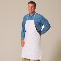 Wholesale pure natural cotton twill blank white apron for custom print blank apron customization any color available free ship