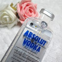 arrival cellphone covers - cellphone Cover Cases D Absolut VODKA Bottle For iPhone s Plus Clear Transparent i phone cases new arrivals