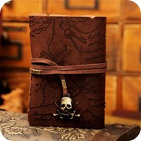 bank fashion bags - Fashion Retro Pirates of the Caribbean leather Card Bag Vintage Treasure Map Bank card package ID Holders
