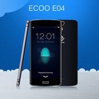 blue screen - Original ECOO E04 Aurora Plus MTK6752 Octa Core GB RAM GB ROM MP quot FHD G LTE Android mAh Fingerprint Cell Phone