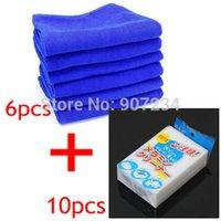 Wholesale 10 pack Melamine Stain Eraser Sponge Magic pack Microfiber Non Toxic Cleaner