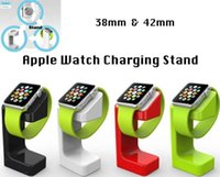 Wholesale 2015 New For Apple Watch Charger Stand Holder Fashion Docking Station for iwatch mm mm with retail box colors