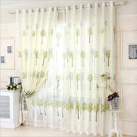 Wholesale The bedroom finished curtain Hook curtains Semi shading curtain Size M