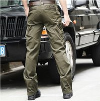 airborne paratrooper - Outdoor clothing men s trousers of the th airborne army green paratroopers camouflage cargo pants colors