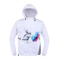 Wholesale Fall Newest Hoodies Trench Coat Men Brand The Mountain Big D Windbreaker Quality Jacket Hip Hop Mens Overcoat Outdoor Dryfit Anti UV