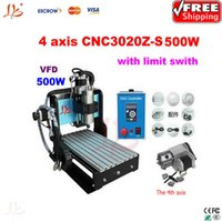 mini desktop cnc router - mini d cnc router Z S axis W Spindle with limit swith stainless steel etching desktop drilling machine