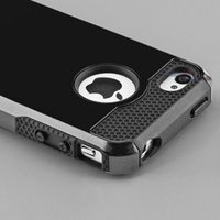 Wholesale Black Hybrid Shockproof Hard Rugged Heavy Duty Cover Case For Apple iPhone iphone plus