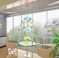 Wholesale CM DIY Modern Pendant Ball novel iq lamp puzzle pendants