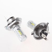 Wholesale 2 X W H4 V HB2 CREE LED Fog Light Bulb LM K White High Low Beam Headlight