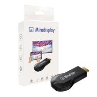 Wholesale Miradisplay WiFi Display Dongle OTA DLNA Airplay Miracast Wireless HDMI P TV Stick For Android IOS Phone