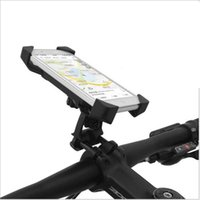 Wholesale 100 Guarantee Universal Bicycle Bike Phone Mount Clip Holder Cycling Motorcycle Cradle Stand for PDA Smart Cell phone GPS Black