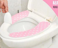 Cheap Paste type toilet warm toilet pad toilet pad Toilet Seat Covers repeatedly washed the toilet seat cushion