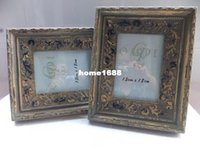 antique wooden picture frames - Home Decorative Inch quot x7 quot Vintage Antique Fashion Solid Wooden Picture Frames With H D Glass