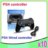 ps4 games - High Quality Wired Game Controller for ps4 Game Joystick Wired Controller for PS4 ZY PS