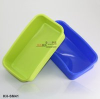 Wholesale 1203 quot quot Rectangle shape silicone ice candy chocolate cake mold specail party supplies